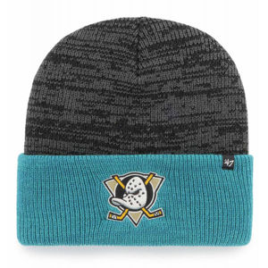 47 NHL ANAHEIM DUCKS TWO TONE BRAIN FREEZE '47 CUFF KNIT BLK  UNI - Zimná čiapka