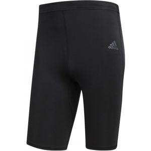 adidas RS SH TIGHT M čierna XXL - Pánske elastické šortky