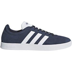 adidas VL COURT 2.0 tmavo modrá 11.5 - Pánska voľnočasová obuv