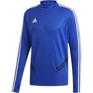 adidas TIRO19 TR TOP modrá M - Pánske športové tričko
