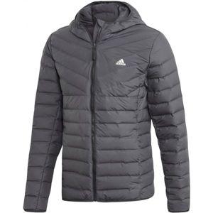 adidas VARILITE 3S H J sivá S - Pánska bunda