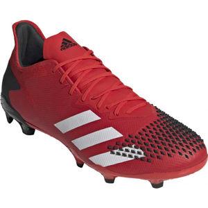 adidas PREDATOR 20.2 FG červená 8.5 - Pánske kopačky