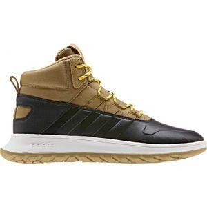 adidas FUSION STORM WTR hnedá 11.5 - Pánska voľnočasová obuv