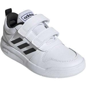 adidas TENSAUR C biela 28 - Detská voľnočasová obuv