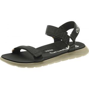adidas COMFORT SANDAL tmavo sivá 8 - Univerzálne sandále