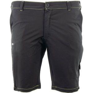 ALPINE PRO ANASS 2 čierna 54 - Pánske šortky