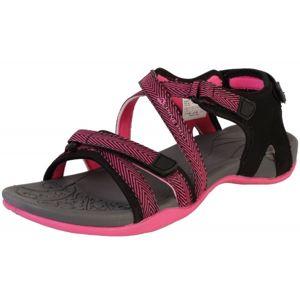 ALPINE PRO BRERA ružová 41 - Dámska letná obuv