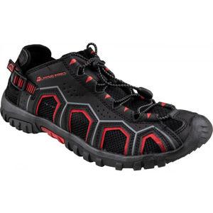 ALPINE PRO DORAM čierna 43 - Pánska letná obuv