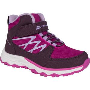 ALPINE PRO HALILO čierna 29 - Detská zimná obuv