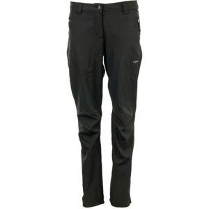 ALPINE PRO NAVA 2 čierna 42 - Dámske nohavice