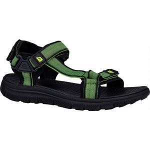 ALPINE PRO NATOL čierna 43 - Pánske sandále
