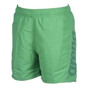 Arena FUNDAMENTALS LOGO JR BOXER zelená 10-11 - Chlapčenské kúpacie šortky