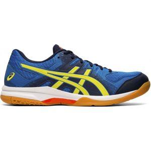 Asics GEL-ROCKET 9 modrá 10 - Pánska indoorová obuv