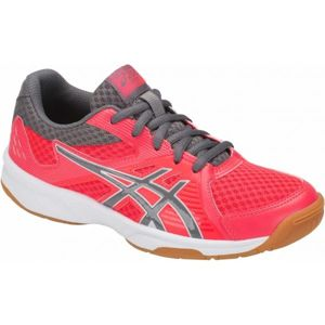 Asics UPCOURT 3 GS červená 5.5 - Detská volejbalová  obuv