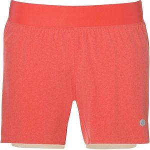 Asics 2N1 SHORT W oranžová L - Dámske šortky