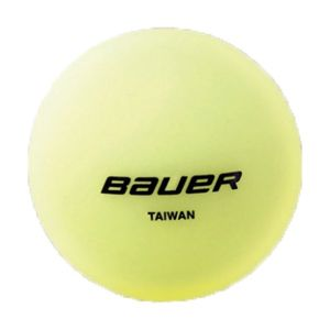 Bauer HOCKEY BALL GLOW žltá NS - Loptička
