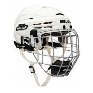 Bauer 5100 COMBO biela M - Hokejová prilba