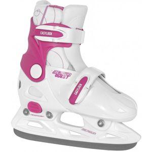 Bergun QUEST biela 29/32 - Detské ľadové korčule