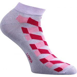 Boma PETTY 003 ružová 39 - 42 - Ponožky