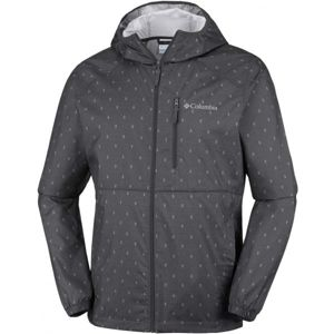 Columbia FLASH FORWARD WINDBREAKER PRINT čierna XXL - Pánska bunda