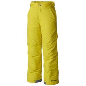 Columbia ICE SLOPE PANT žltá XS - Detské zimné nohavice