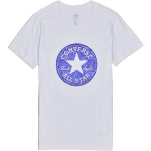 Converse SEASONAL CHUCK PATCH PALM FILL TEE biela XS - Dámske tričko