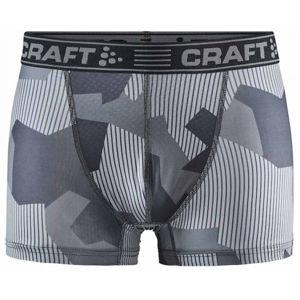 Craft GREATNESS 3 sivá M - Pánske funkčné boxerky