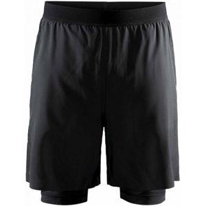 Craft VENT 2v1 čierna XL - Pánske športové šortky