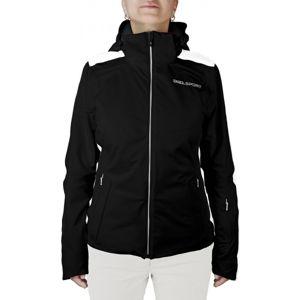 Diel BRENDA čierna 40 - Dámska lyžiarska bunda