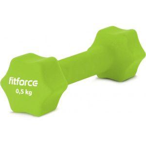 Fitforce JEDNORUČNÁ ČINKA 0.5KG   - Jednoručná činka