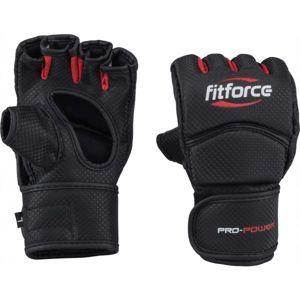 Fitforce PRO POWER  L - MMA bezprstové rukavice
