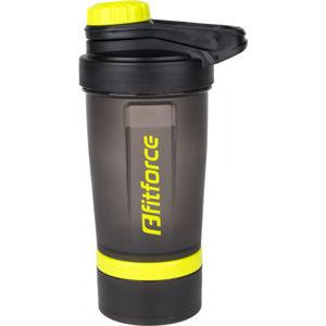 Fitforce SHAKER   - Plastová fľaša s oceľovou guličkou
