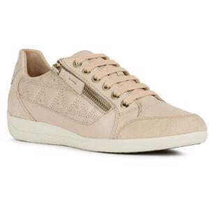 Geox D MYRIA C béžová 38 - Dámska voľnočasová obuv