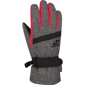 Hannah CLIO sivá 11-12 - Detské zateplené rukavice