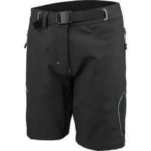 Head MARBLE čierna L - Dámske outdoorové šortky