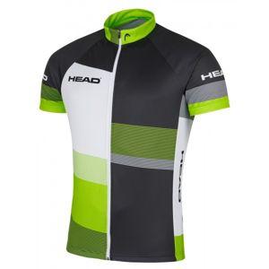 Head MEN JERSEY CLASSIC čierna 2xl - Pánsky cyklistický dres