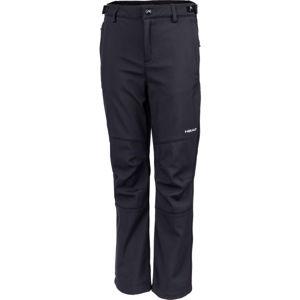 Head NAXOS čierna 116-122 - Detské softshellové nohavice