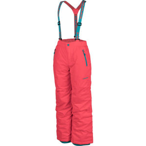 Head VELES oranžová 128-134 - Detské lyžiarske nohavice