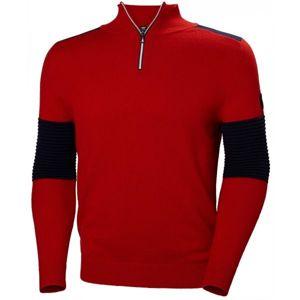 Helly Hansen HOD KNIT SWEATER červená M - Pánsky sveter