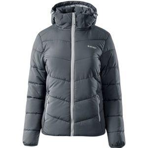 Hi-Tec LADY FISA tmavo sivá XL - Dámska zimná bunda