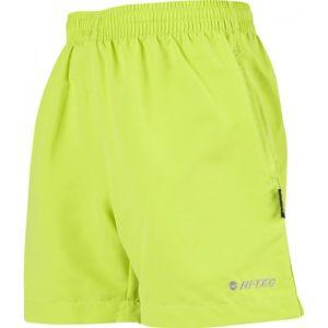 Hi-Tec TULINO JR svetlo zelená 140 - Chlapčenské šortky
