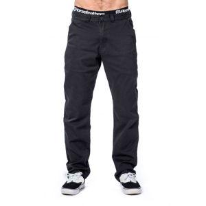 Horsefeathers MACKS MAX PANTS čierna 32 - Pánske nohavice