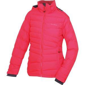 Husky HERAL L červená L - Dámska páperová bunda