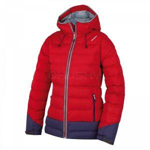 Husky FADIN L červená XL - Dámska páperová  bunda