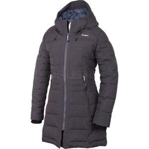 Husky W 17 NORMY L tmavo sivá M - Dámsky zimný kabát