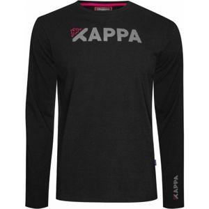 Kappa LOGO ACANG čierna XL - Pánske tričko
