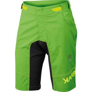Karpos BALLISTIC EVO zelená M - Cyklistické kraťasy