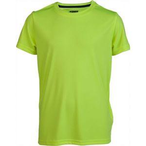 Kensis REDUS žltá 152-158 - Chlapčenské športové tričko