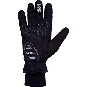 Klimatex ANYK čierna XL - Unisexové  softshellové rukavice