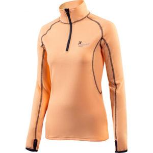 Klimatex DENISE ružová M - Dámsky outdoorový pulóver